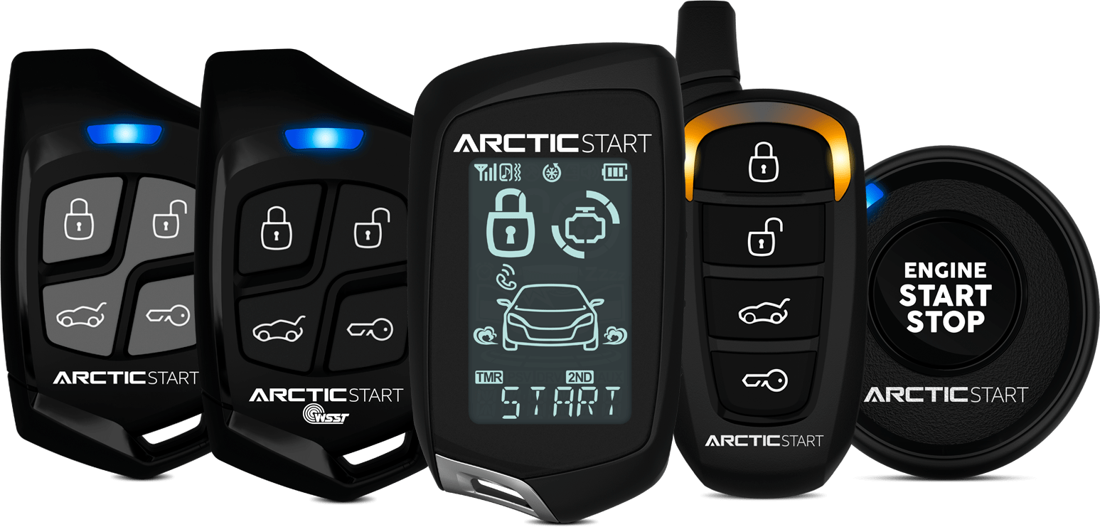 ArcticStart remote start security system remotes