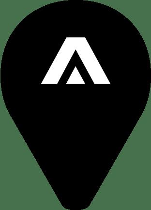 ArcticStart map pin
